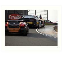 British GT Racing Art Print