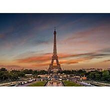Trocadero paris Photographic Print