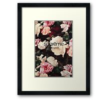 Supreme PCL Media Cases, Pillows, and More. Framed Print