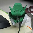 Yoda Origami by RoboBarb