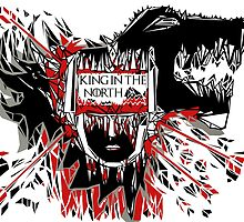 King in the North by twarefineart