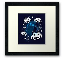 Invaders of Space and Time Framed Print