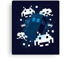 Invaders of Space and Time Canvas Print
