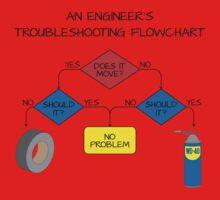 Engineering Flowchart Baby Tee