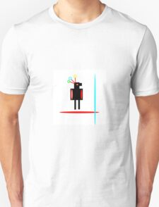 RED FEATHER, abstract figure T-Shirt