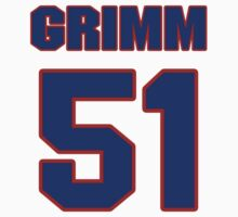 National baseball player Justin Grimm jersey 51 by imsport
