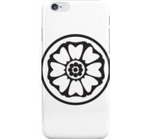 White Lotus Badge iPhone Case/Skin