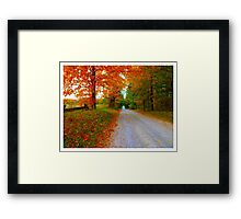 Old Road to Scotsdale Farm - www.jbjon.com Framed Print