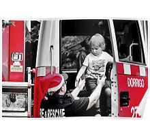 3 Cheers for the Firewoman of Dorrigo Poster