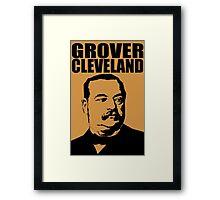 GROVER CLEVELAND-3 Framed Print
