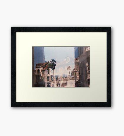 Croatia - lomography Framed Print
