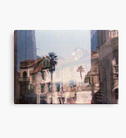 Croatia - lomography Canvas Print