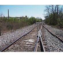 Cross Tracks Photographic Print