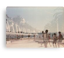 Lomography - multi exposition Canvas Print