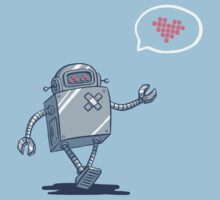 Robot Love Kids Clothes