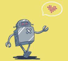 Robot Love Baby Tee
