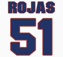 National baseball player Mel Rojas jersey 51 by imsport