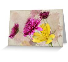 Fresh Flowers Greeting Card
