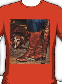 Boots and Buddy T-Shirt