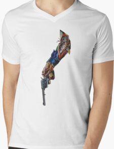 Artificial Death Mens V-Neck T-Shirt