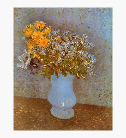 'Lilacs' by Vincent Van Gogh (Reproduction) Photographic Print