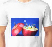 Basketball Games On The Apple Unisex T-Shirt
