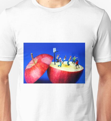 Basketball Games On The Apple Unisex T-Shirt