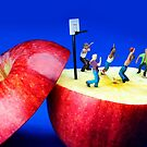 Basketball Games On The Apple by Paul Ge