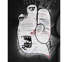 Handy the Graffiti Monster Photographic Print