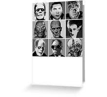 Universal Warhol Black&White Greeting Card