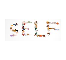 New age crystals and gemstones spelling out Self by PhotoStock-Isra