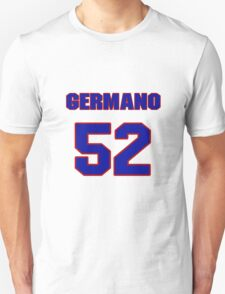 National baseball player Justin Germano jersey 52 T-Shirt
