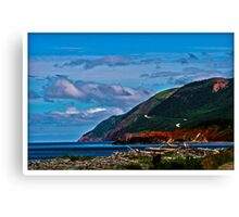 Cape Breton Highlands National Park - www.jbjon.com Canvas Print