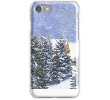 Canadian Winter Scene iPhone Case/Skin