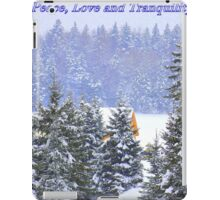 Canadian Winter Scene iPad Case/Skin