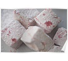 Raspberry Marshmallows Poster