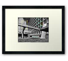 ESC.APE.NOW. Framed Print