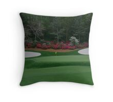 13th Green at Augusta National Throw Pillow
