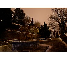 It was a cold and lonely night Photographic Print