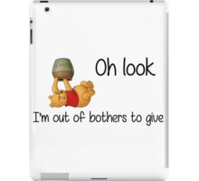 Winnie the Pooh - Out of Bothers iPad Case/Skin