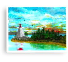 Kidston Island Lighthouse - www.jbjon.com Canvas Print