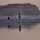 Merewether Baths - Togs Delight by Bev Woodman