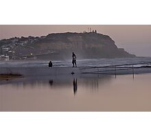 Merewether Baths - Togs Delight Photographic Print