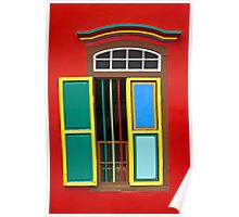 Colourful Window #2 Poster