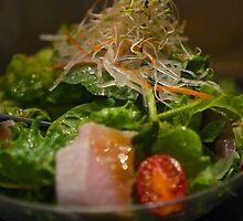 Sashimi salad with Miso dressing by CReayHutchinson