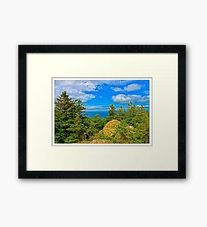 Cape Breton Highlands National Park, Nova Scotia, Canada - www.jbjon.com Framed Print