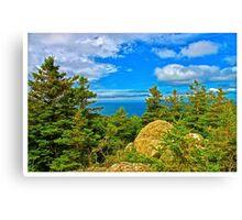 Cape Breton Highlands National Park, Nova Scotia, Canada - www.jbjon.com Canvas Print