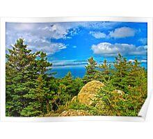 Cape Breton Highlands National Park, Nova Scotia, Canada - www.jbjon.com Poster