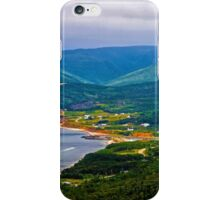 Overlooking Pleasant Cove, Nova Scotia - www.jbjon.com iPhone Case/Skin