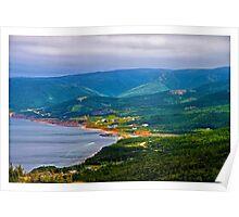 Overlooking Pleasant Cove, Nova Scotia - www.jbjon.com Poster